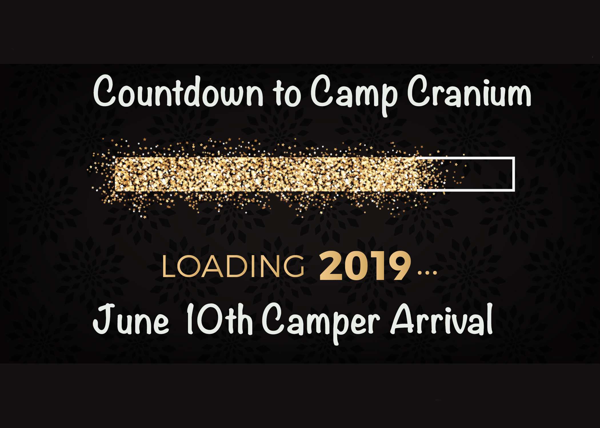 Camp Cranium Countdown…